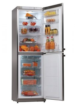 Refrigerator combined Snaige RF35SM P1CB22 (A ++) stainless steel