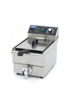 Gastro fryer 10L with drain