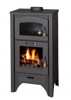 Fireplace stove with oven VICTORIA Deluxe FR