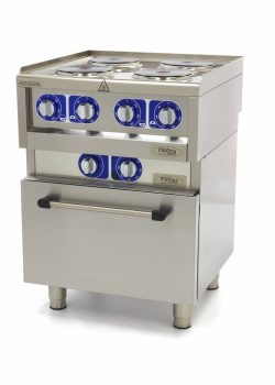 Stove 4 burners with oven