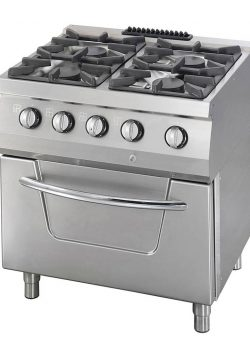 Kombi Gastro Gas stove with electric oven